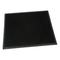 Gumová vstupní kartáčová rohož Rubber Brush - 100 x 80 x 1,2 cm