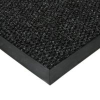 Černá textilní zátěžová vstupní čistící rohož Fiona