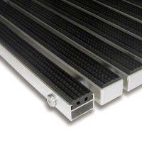 Gumová hliníková čistící vstupní venkovní rohož Alu Standard - 100 x 100 x 2,2 cm
