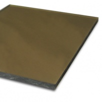 Plný polykarbonát Makrolon 2UV, 4 mm bronz 2,05x1,52m