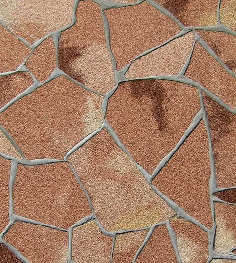 Delap, kamenný obklad Koral - skála