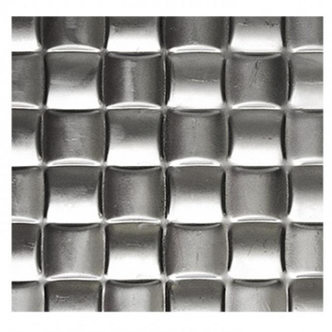 Plech černý - lisovaný vzor hrubá tkanina 3D, I PFEZ6/11