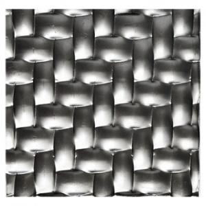 Plech černý - lisovaný vzor parkety 3D, I PFEZ3/12