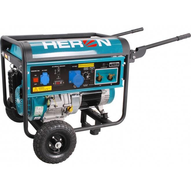 Heron elektrocentrála se svářečkou 14HP/5,5kW (8896310)