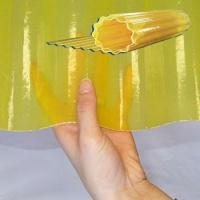 Vlnitá role Uniroll 76/18 žlutá
