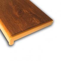 Plastový parapet RS, PVC folie - Zlatý dub