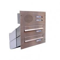 Sestava schránky Dols, 2x D-041 s hovorovým modulem