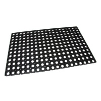 Gumová vstupní čistící rohož na hrubé nečistoty Honeycomb - 80 x 50 x 1,6 cm