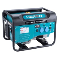 Heron elektrocentrála benzínová 2,8kW/ 6,5HP (8896416)