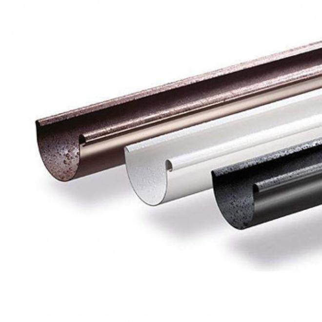 Plastový okapový žlab Gamrat 150mm