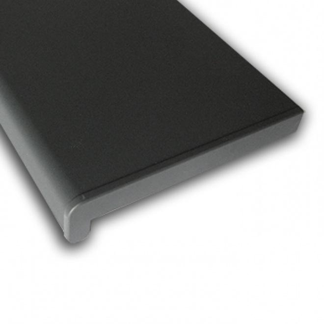 Plastový parapet RS, PVC folie - Antracit