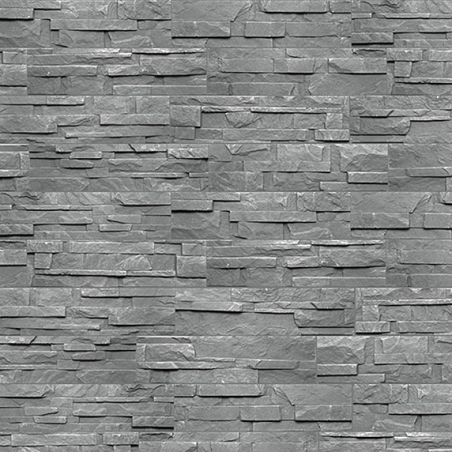 Imitace kamene Keraton® Texas, černý