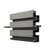 WPC lamelová deska Duo Fuse, DF4B20, kamenně šedá