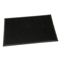 Gumová vstupní kartáčová rohož Rubber Brush - 100 x 60 x 1,2 cm