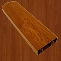PVC foliovaná plotovka, 3042, ořech balsamico