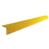 Žlutá karborundová schodová hrana