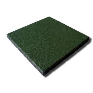 Protipádová pryžová dlažba MFL typ A, SBR, zelená