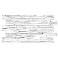 PVC 3D obkladová folie Grace, Quartzit šedý, 6539