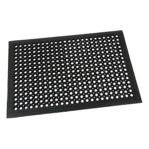Gumová vstupní rohož s obvodovou hranou Dirt Catcher - 90 x 60 x 1,4 cm