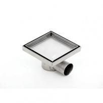 Podlahová vpusť Kesmet KNFm, pro obklad, 150x150mm