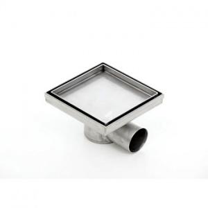 Podlahová vpusť Kesmet Standard, pro obklad, 150x150mm