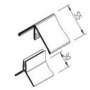 Vnější roh Multipaneel, V2216