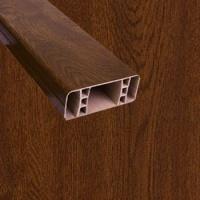 PVC foliovaná plotovka, 8007, ořech