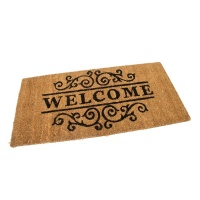 Kokosová vstupní rohož Welcome - Deco - 80 x 40 x 1,7 cm