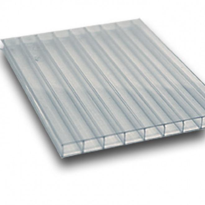 Polykarbonátová deska Exolon 6 mm čirá 2,1x2m