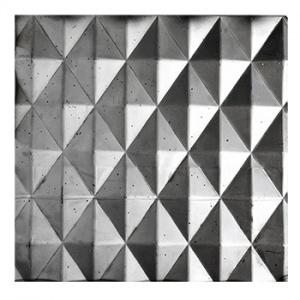 Plech černý - lisovaný vzor jehlany 3D, I PFEZ8/12