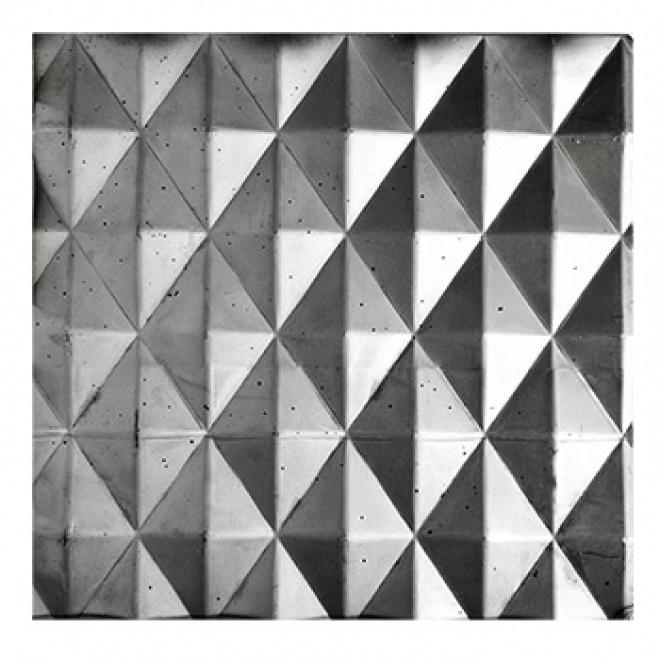 Plech černý - lisovaný vzor jehlany 3D, I PFEZ8/11