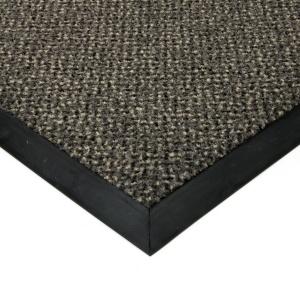 Šedá textilní čistící vnitřní vstupní rohož Cleopatra Extra