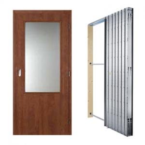Posuvné dveře Masonite sklo 2/3, sada
