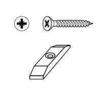 Upevňovací podložka Click + vrut 4x35mm