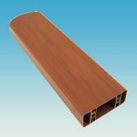 PVC plotový profil, 111, třešeň