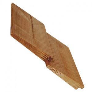 Fasádní dřevěná palubka Thermowood, UYL 20x140mm