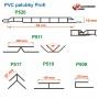 rozměry plastových palubek Profi P520
