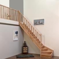 Lomené schodiště Minka Home - buk, 850x3000mm