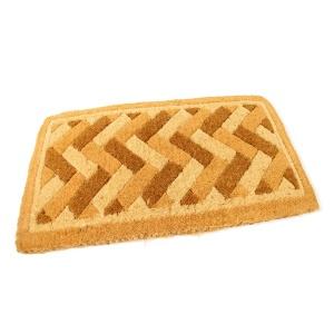Kokosová vstupní rohož Bricks - Deco - 75 x 45 x 4,7 cm