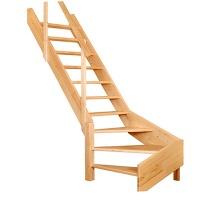 Lomené schodiště Oman Turn, 800x2800mm