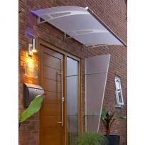 Nerezová vchodová stříška Lightline 190 x 95 cm