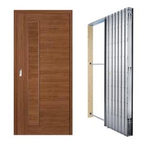 Posuvné dveře Masonite Vertika plné, sada