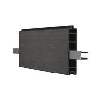 WPC plotová deska Duo Fuse, DF1B15, grafitově černá
