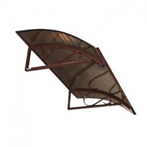 Vchodová stříška Robelit Arco, 1500x900x250mm