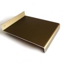 Venkovní parapet hliníkový Extrudovaný - bronz, tl. 1,5-2,8mm