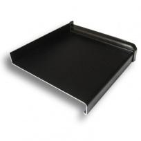 Parapet venkovní, hliníkový Extrudovaný - hnědá elox, tl. 1,5-2,8mm