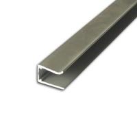 Al. profil U, jednoduchý 10/16mm, eloxovaný
