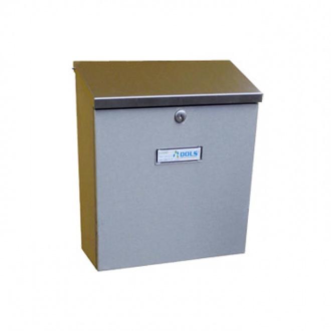 Nerezová poštovní schránka Dols, A-055