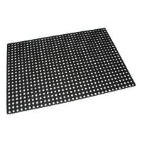 Gumová vstupní čistící rohož na hrubé nečistoty Honeycomb - 150 x 100 x 1,6 cm