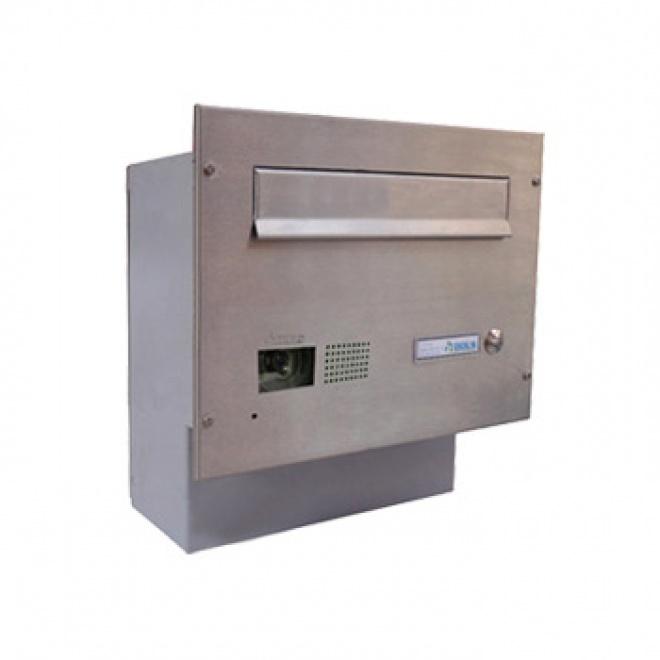 Poštovní schránka Dols, F-04 s videotelefonem Sensa Plus